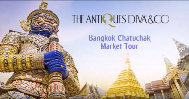 Chatuchak Market Bangkok: Antiques Sourcing in Bangkok with Toma Clark Haines The Antiques Diva® - Watch