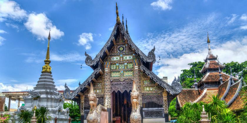 Chaing Mai Thailand Temple