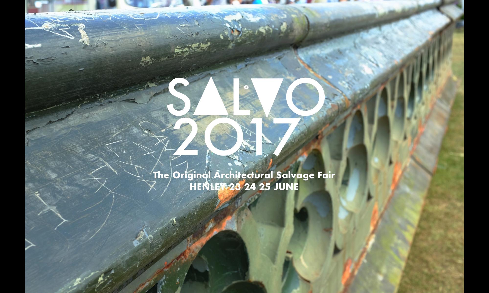 Salvo Fair 2017: Architectural Salvage Fair