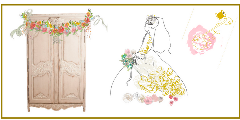 THE ARMOIRE DE MARIAGE- A FRENCH WEDDING TRADITION