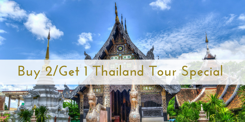 Buy 2/Get 1 Thailand Tour Special | The Antiques Diva