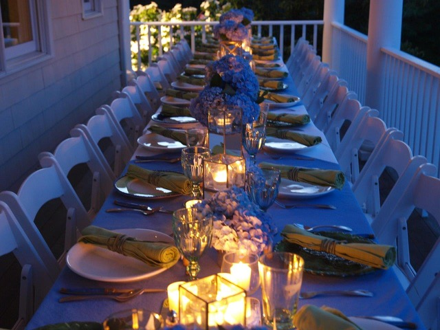 Hamptons Designer Showhouse | Outdoor Entertaining Diva Style | A private dinner party in the Hamptons at Libby Langdon's home in Sag Harbor