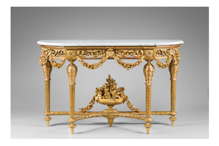 Christophe de Quénetain - After a design of Jean-Charles Delafosse (1734-Paris-1791) Console