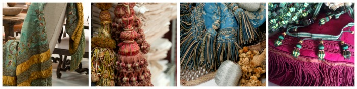 Trends at the Battersea Decorative Fair - passementerie