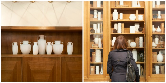 Trends at the Battersea Decorative Fair - white ceramics