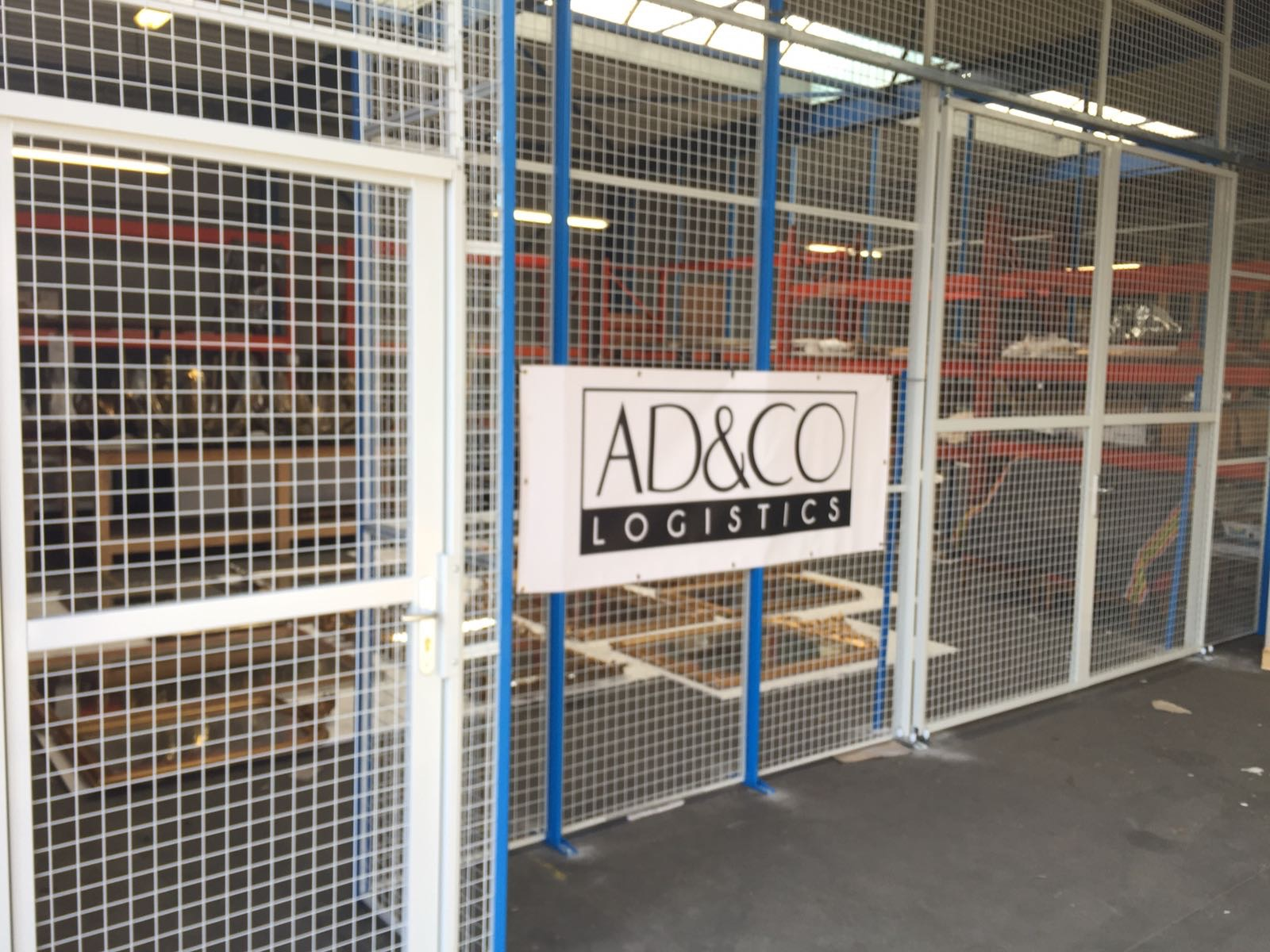 AD&CO Logistics carefully manages and tracks your goods from pickup to warehouse to shipment to delivery