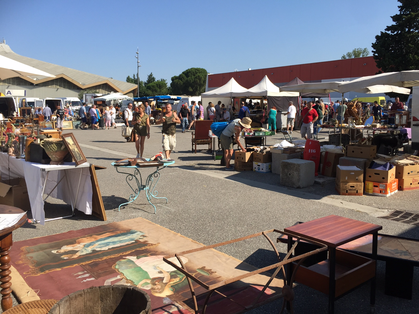 Wholesale Antiques Shows in the South of France | Tom Clark Haines | The Antiques Diva