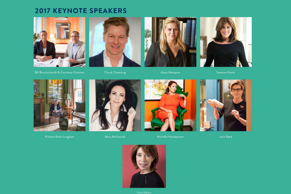 Southern Style Now - 2017 Keynote Speakers