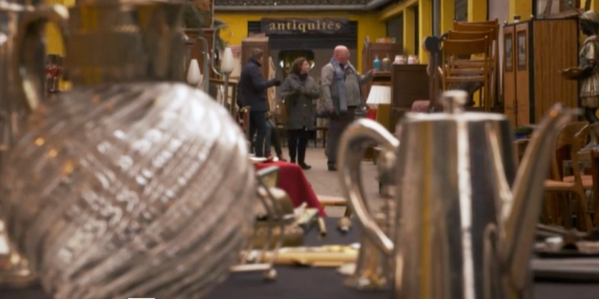 Shopping the Paris Flea Market with Life Stylist Bruce Bailey | Toma Clark Haines | The Antiques Diva