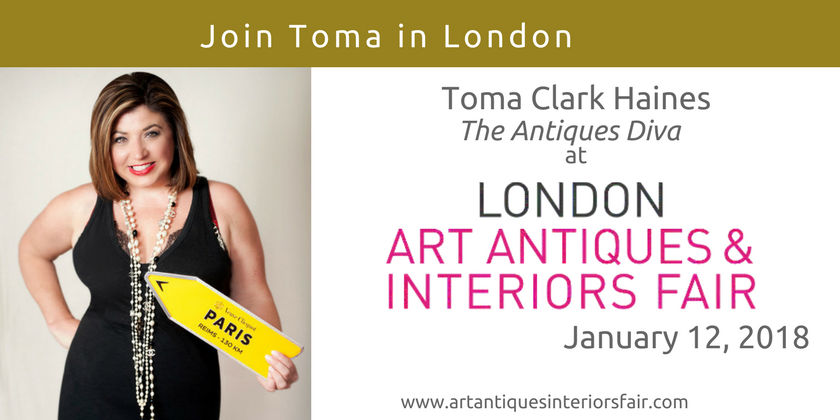 London Art Antiques & Interiors Fair | Toma Clark Haines | The Antiques Diva