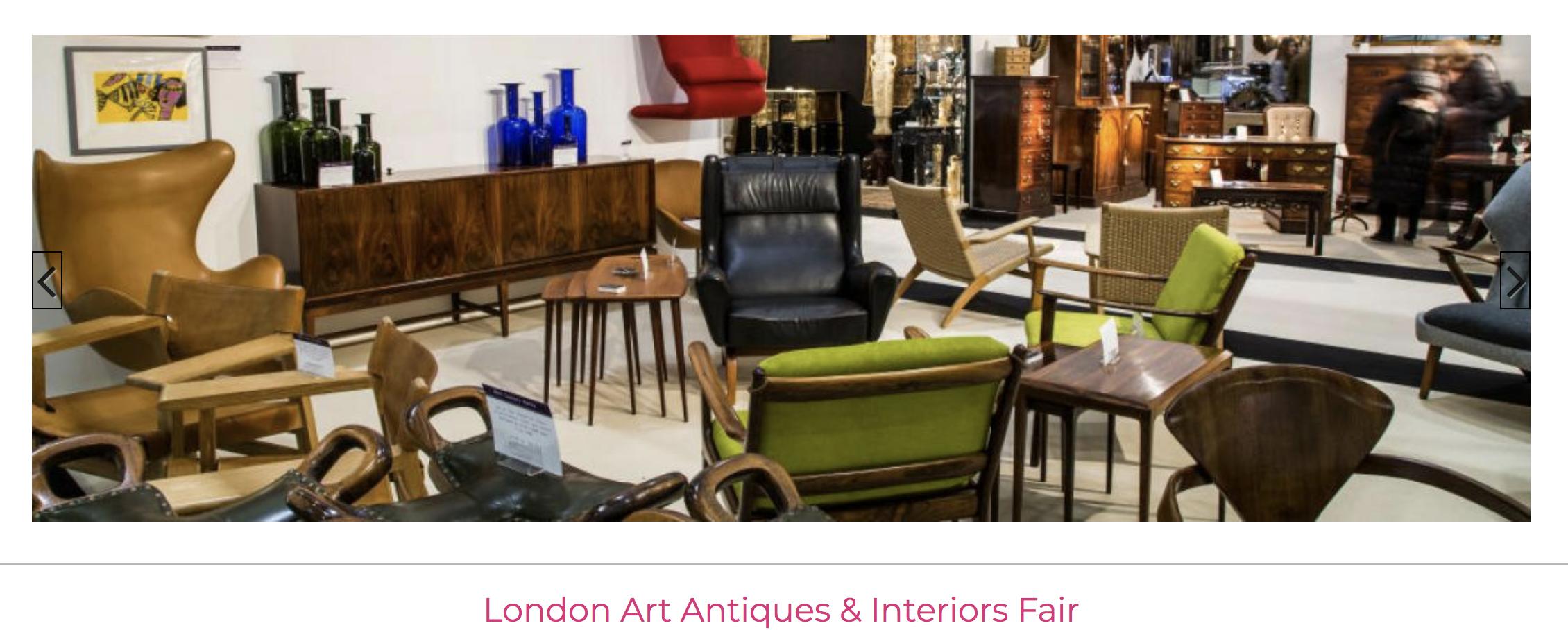 London Art Antiques & Interiors Fair