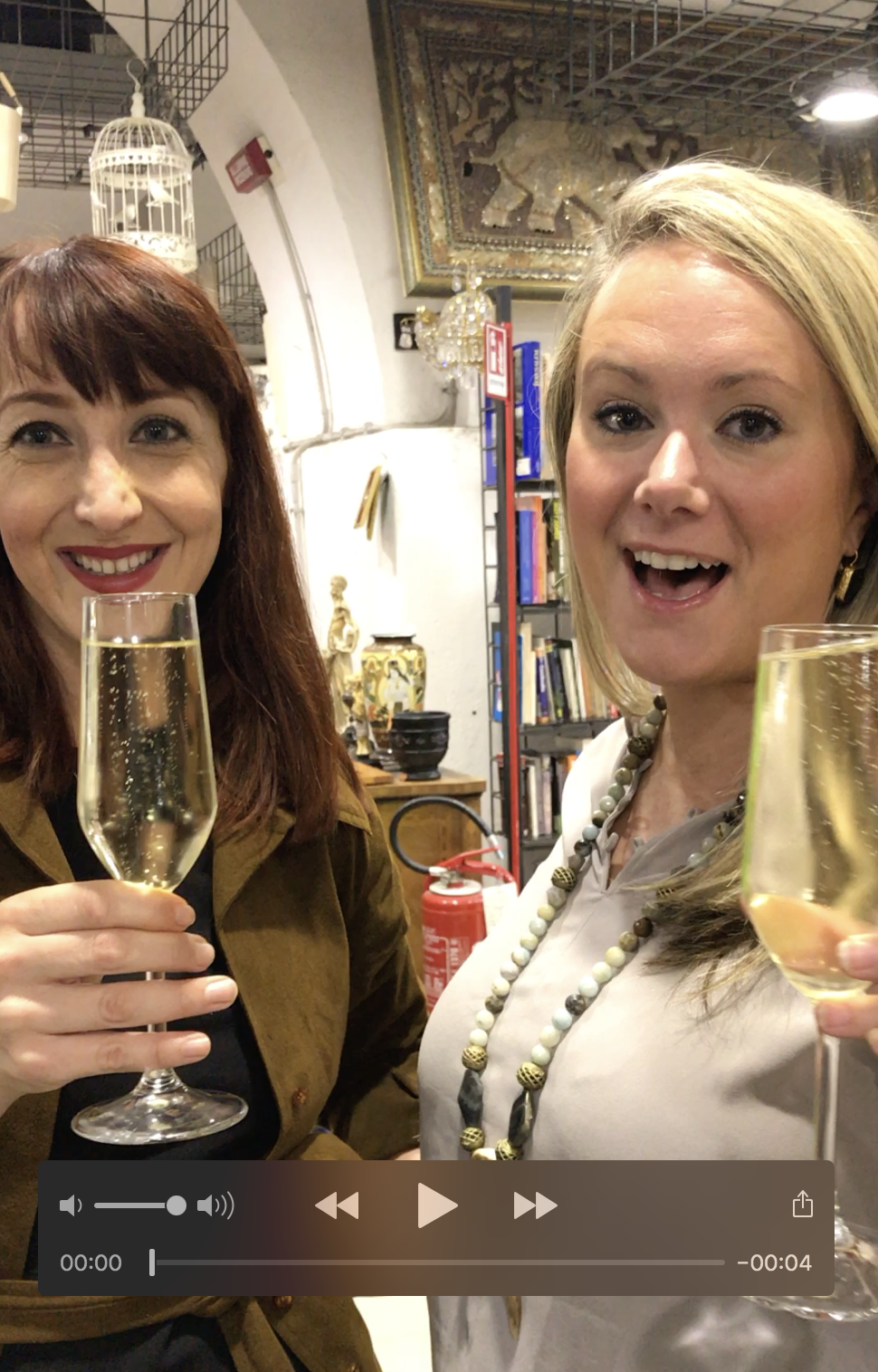 Cheers! To Shopping in Rome with The Antiques Diva!