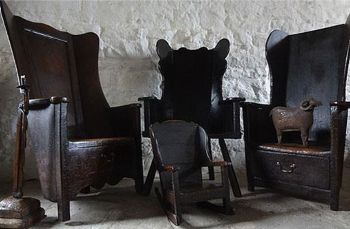 Now is the Best Time to Buy Antiques in England | Country Oak Furniture – group of primitive chairs