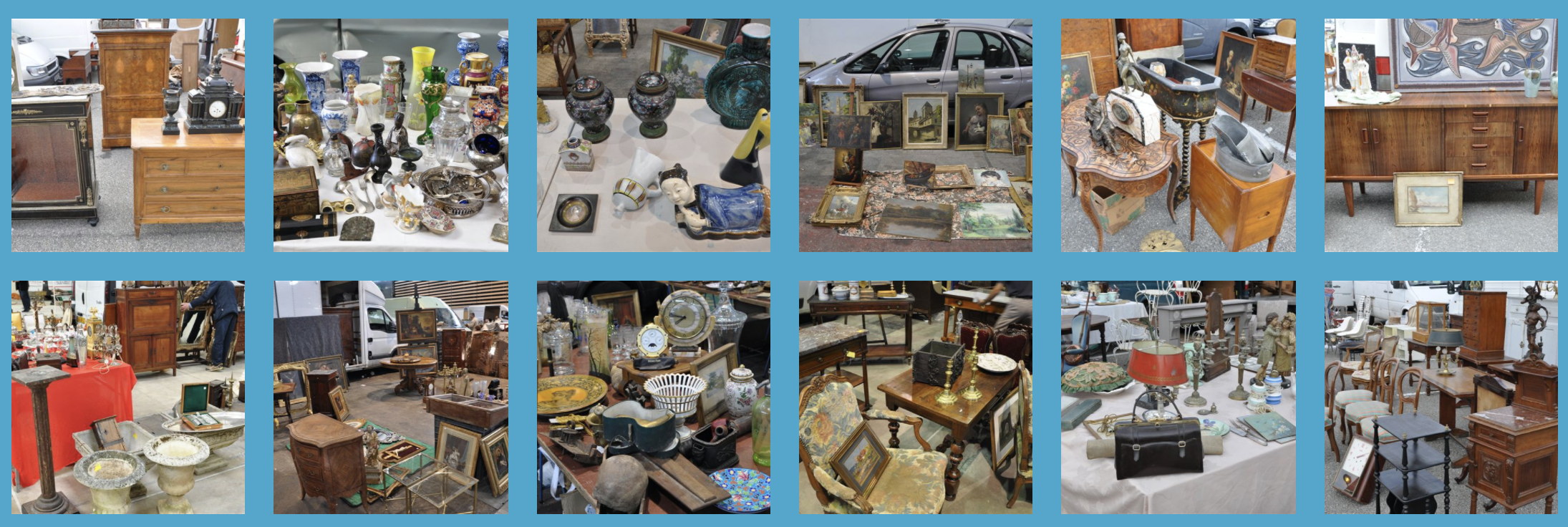 DÉBALLAGE Montpellier – WHOLESALE ANTIQUE SHOW IN THE SOUTH OF FRANCE 2018 Calendar