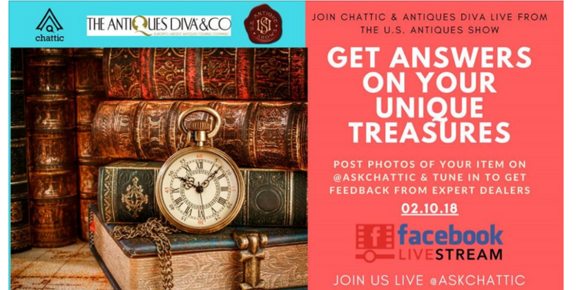 Meet @AskChattic and The Antiques Diva at The Original Miami Beach Antiques Show | Toma Clark Haines | The Antiques Diva