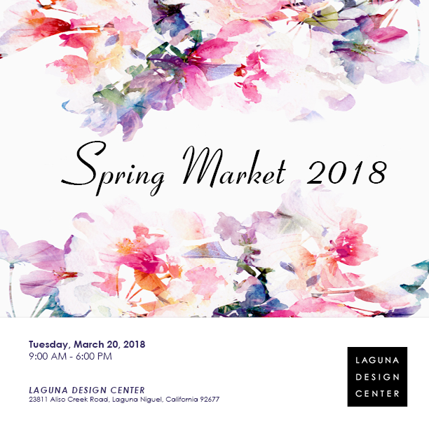 Laguna Design Center   Spring Market 2018