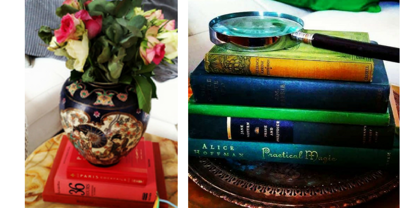 3 Smart Methods For Using Books as Decor | Toma Clark Haines | The Antiques Diva & Co