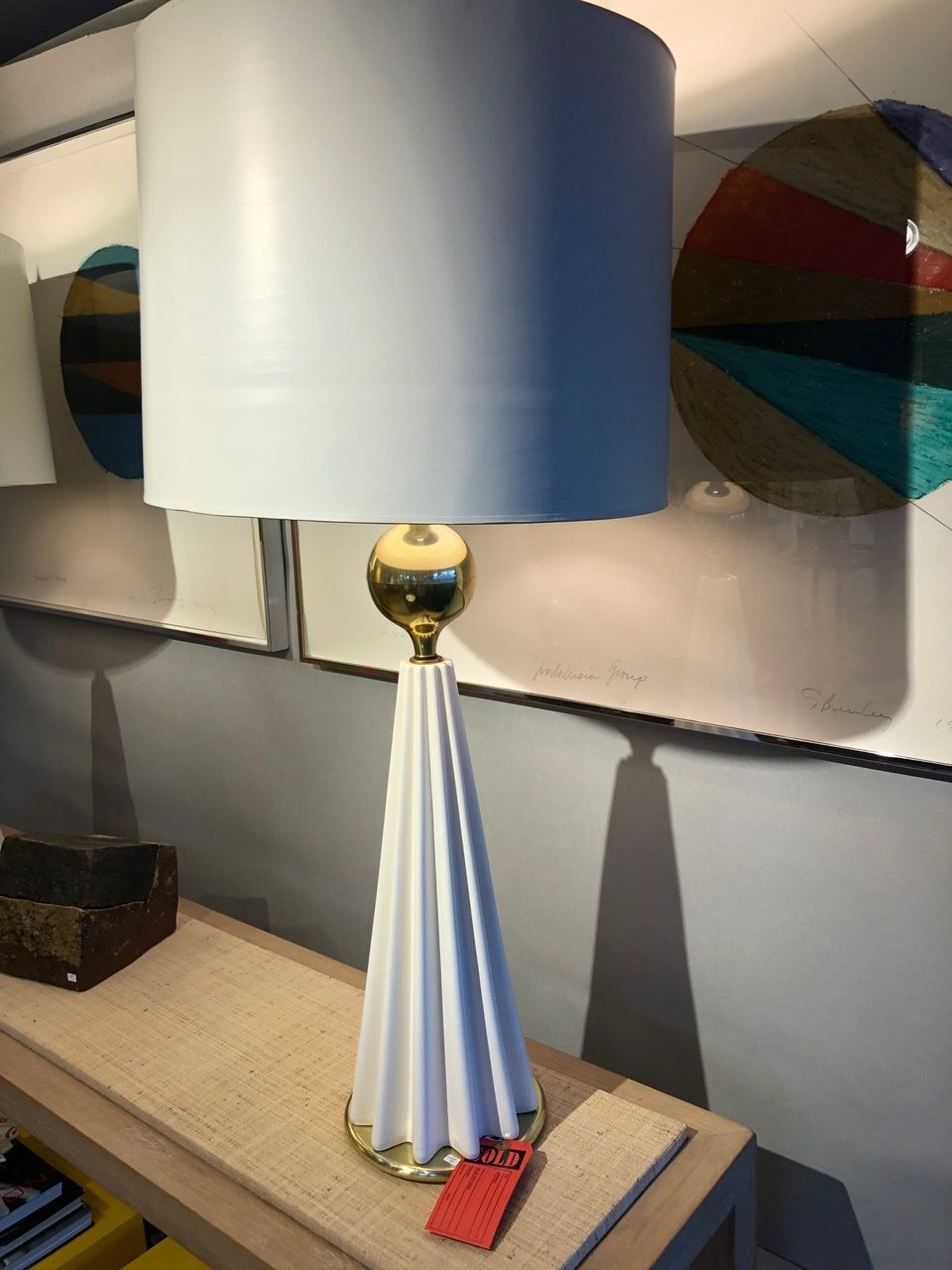 Gerald Thurston Lamp from David Bell Antiques, Washington, DC