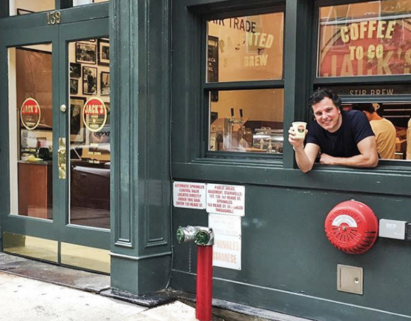 Jack Mazzola, founder of Jack's Stir Brew Coffee | The Anitques Diva