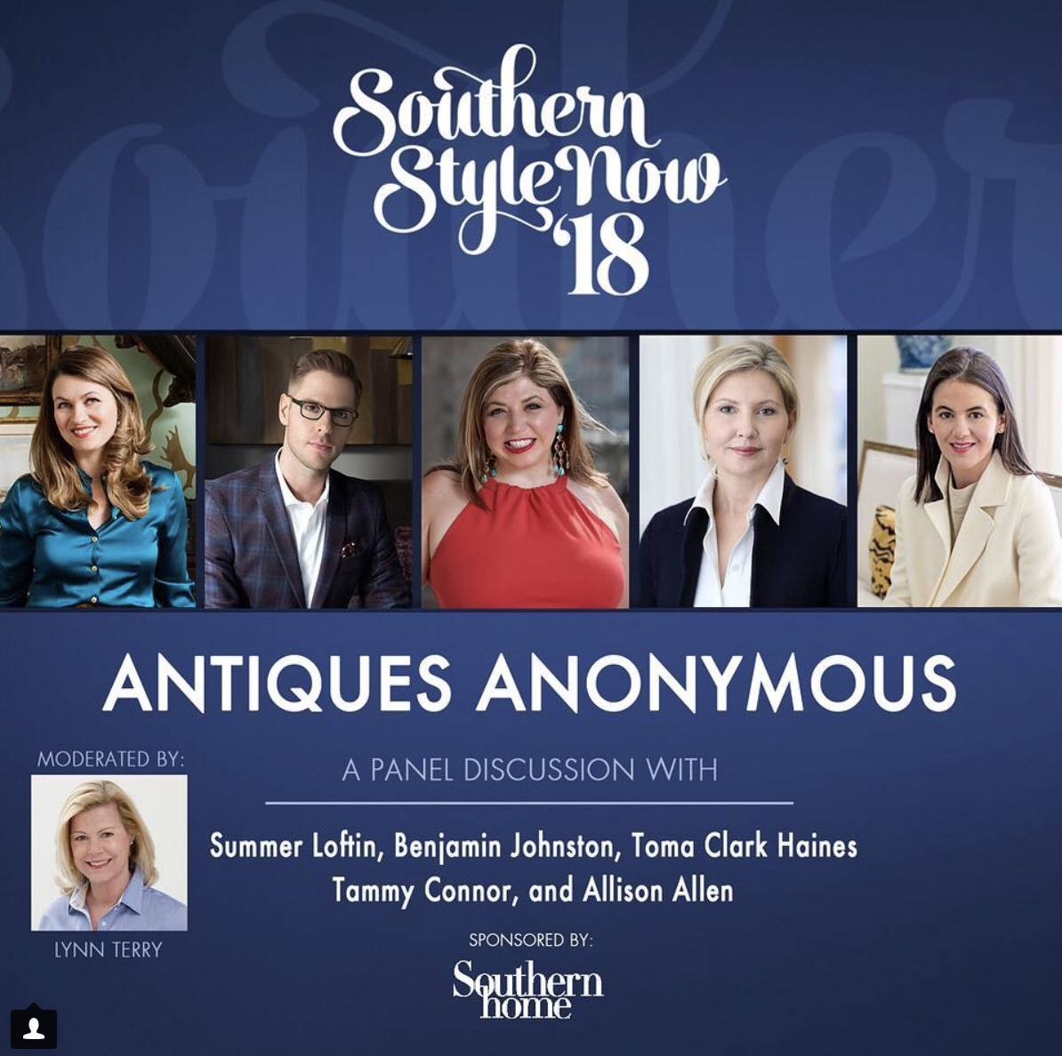 Southern Style Now Panel: Antiques Anonymous