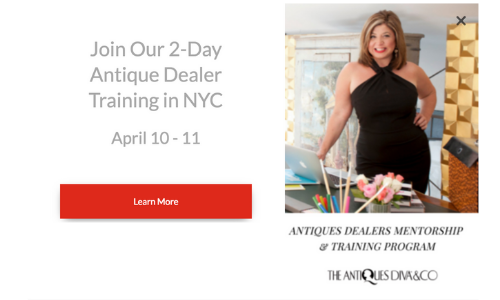 Join Our 2-Day Antique Dealer Training in NYC | Toma Clark Haines The Antiques Diva