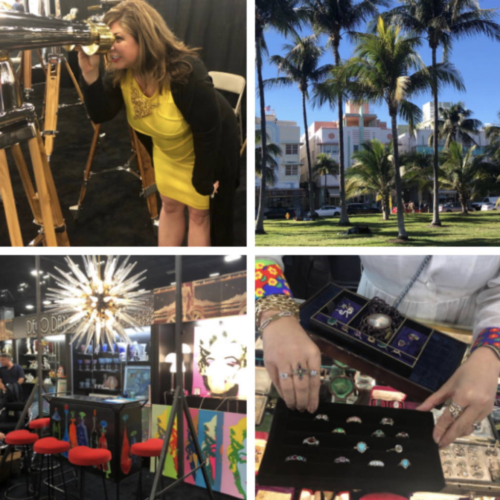 #NoPassportRequired | The Original Miami Beach Antique Show | The Antiques Diva & Co