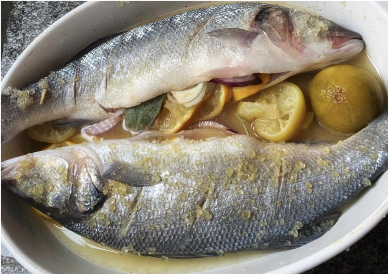 Cooking lessons with fish from Venice's Rialto Market