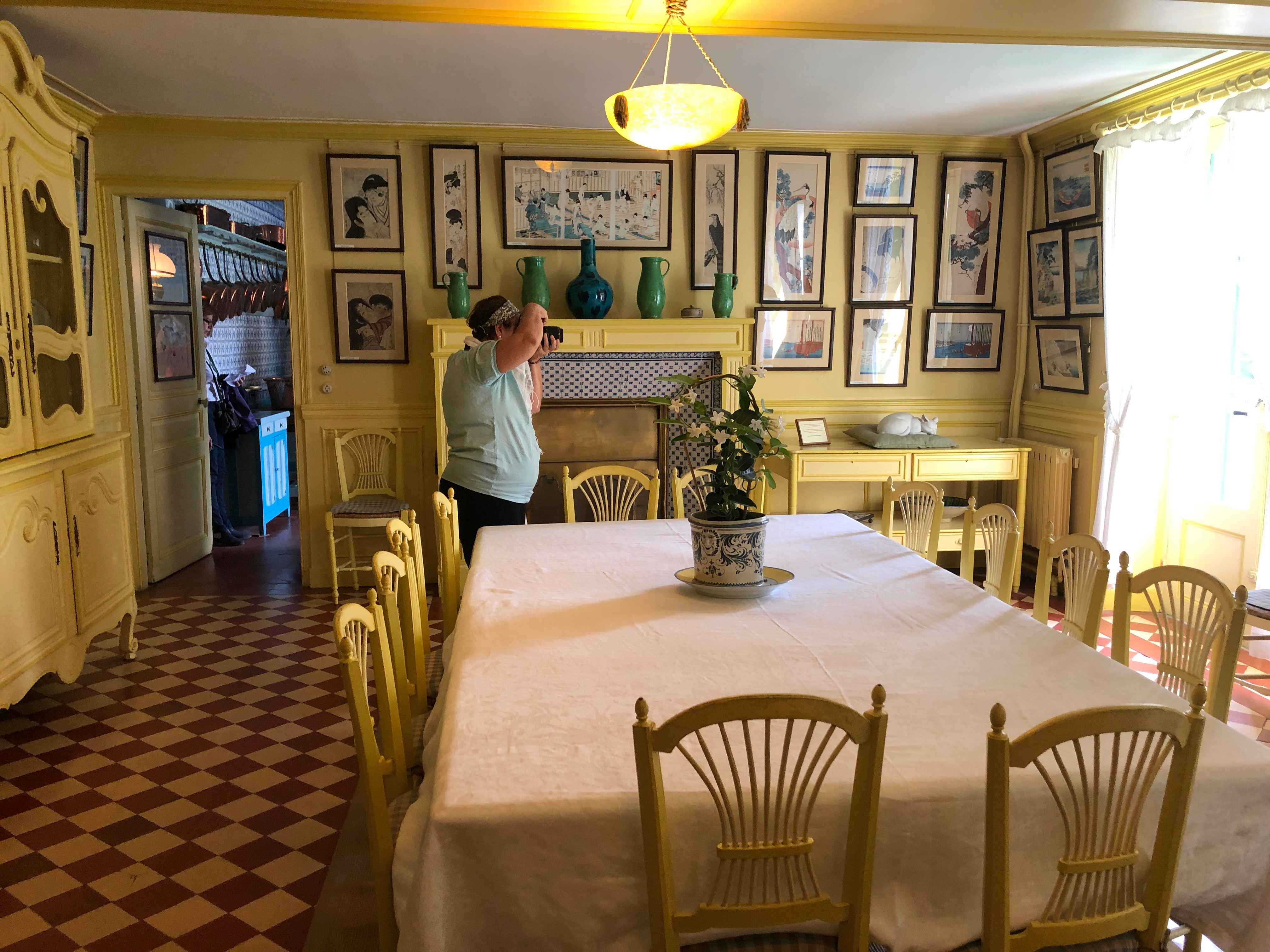 Monet's kitchen at Giverny | Auntie Toma's Modern Day Grand European Tour | Toma Clark Haines | The Antiques Diva & Co