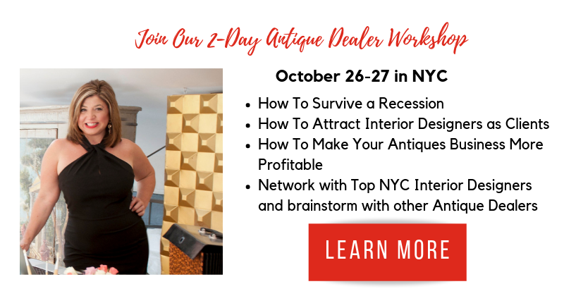 Join our 2-day antique dealer workshop